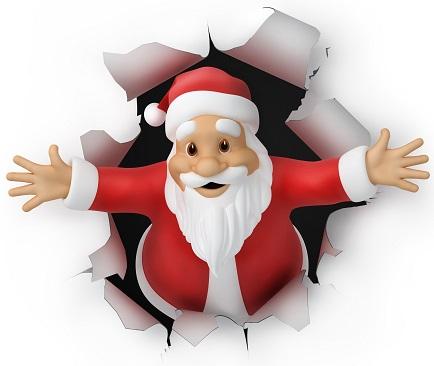 Christmas Quiz Santa